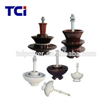 Porcelain pin insulator for 11KV and 15KV (P-11, PW-15)