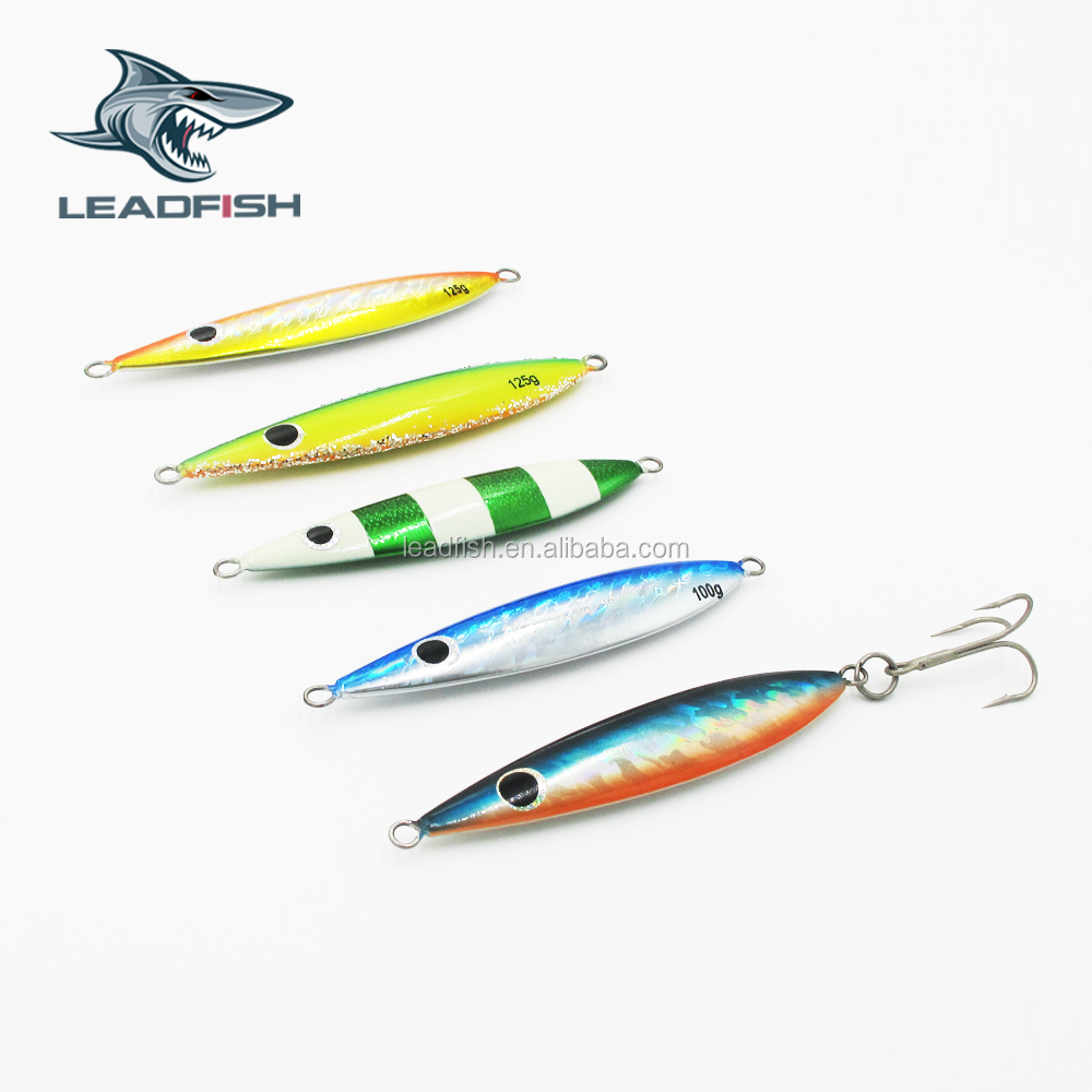 LF75 LEADFISH-Japan design lure 40g/60g/80g/100g/125g/150g/175g/200g/300g/ fishing lure design slow jig