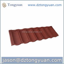 Discount Stone-coated Metal German Colored Roof Tile /Tongyuan roof manufacturer/Guangzhou construction materials