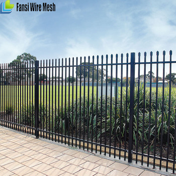 Galvanized Steel Security Panel Fence Manufacturer