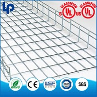 OEM Stainless Steel Wire Mesh Basket Cable Tray