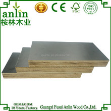 High Quality Construction 15mm Brown Laminated Plywood Sheet