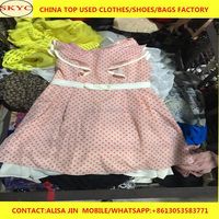 used clothing Dongguan suppliers super cream second hand adults children used clothes 2017 cheap price for Africa importers