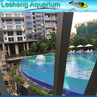 uv perspex outdoor swimming pool