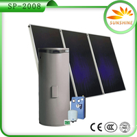 new green energy 200L Solar energy system Water Heater products price, home hot water solar power system