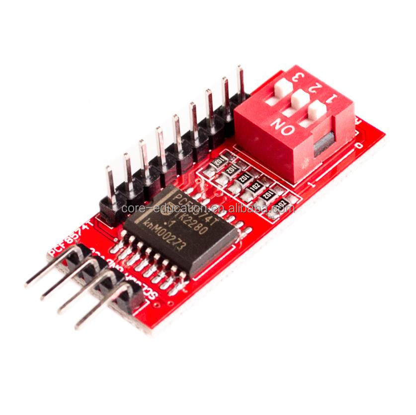 PCF8574 PCF8574T I/O for I2C Port Interface Support Cascading Extended Module