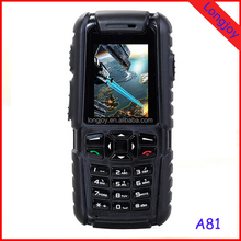 "New Rugged Cellphone ""A81"" 2.0 inch - Dustproof, Shockproof, Waterproof, Quad Band GSM"