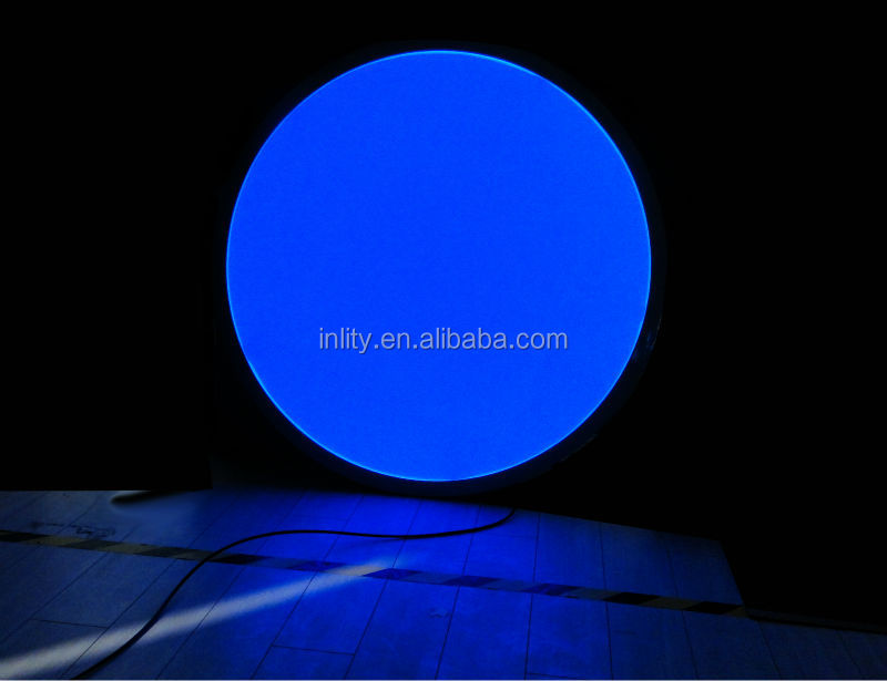 3w High brightness and quality big size LED round panel Lights famous china supplier