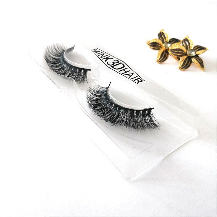 Wholesale Top Quality <strong>A06</strong> 3D Human Hair Mink Eyelash with Private Package