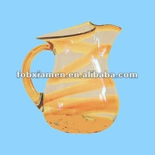 ceramic enamel water pitcher