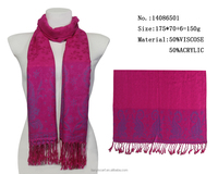 rose red scarfs paisley jacquard woven scarves scarf wholesaler