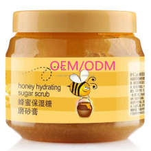 Honey + sugar body scrub--hydrating Whitening exfoliating & softening treatment