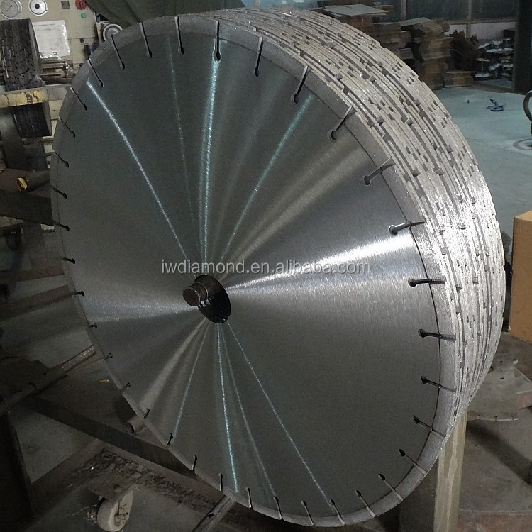 Wet or Dry Diamond Blades for cutting very hard or dense material