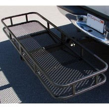 Excess hitch mount cargo carrier for cars, trucks and pickups