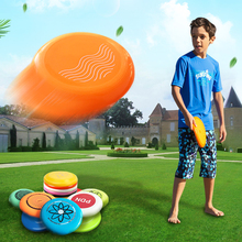 Partypro BSCI factory children game sports outdoor toys plastic ultimate frisbee blank flying disc golf