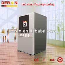 Deron ground source heat pump with central heating and cooling function 48kw(CE,EN14511)