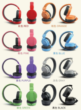 The latest colorful noise isolating foldable stereo high quality headphone with mic