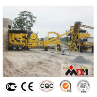 China Top 1 mobile rock crusher price in india certified by CE ISO GOST