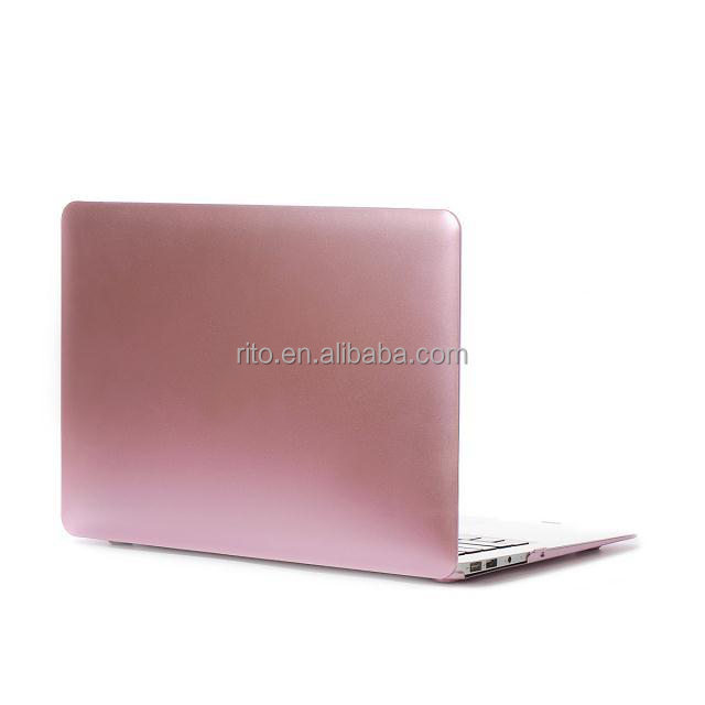 For Rubberized Plastic Macbook Air Soft Case, Laptop Hard Shell Cover for Macbook Air 11