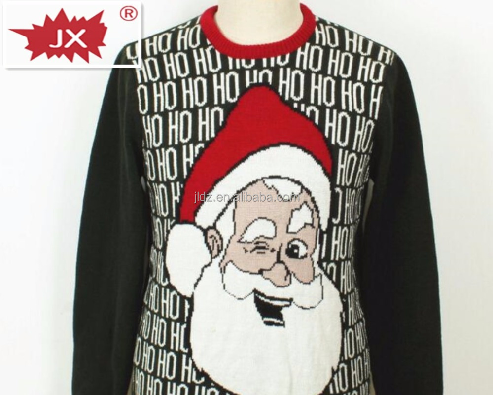 David's deer high quality knitted ugly christmas sweater for lovers