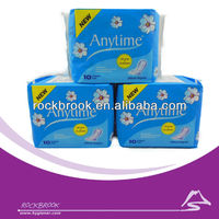 Cheap Dry Weave Cover Super Absorption 240mm Sanitary Pad