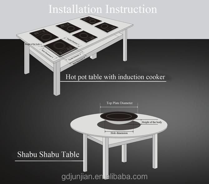 2014 induction stove cooker siemens ceran shabu shabu - Table a induction siemens ...