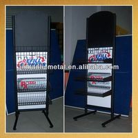 Metal rack,rattan cd rack