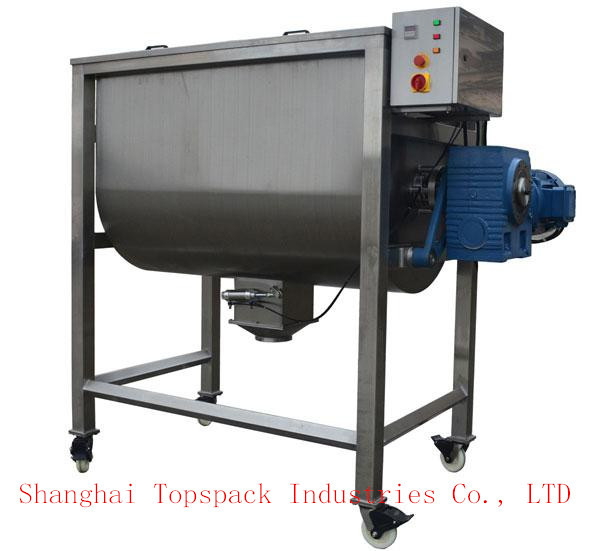 Horizontal screw mixer / ribbon blender / powder mixing machine
