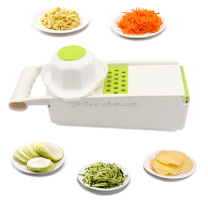 Amazon new top seller 5 in 1 kitchen utensil multi - purpose pp vegetable slicer grater