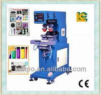 alibaba express dongguan pneumatic 2-color pen lighter Sealed Cup pad printing machine LC-PM2-100T