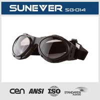 motorcycle goggle good quality with ansi as certificate tpee material