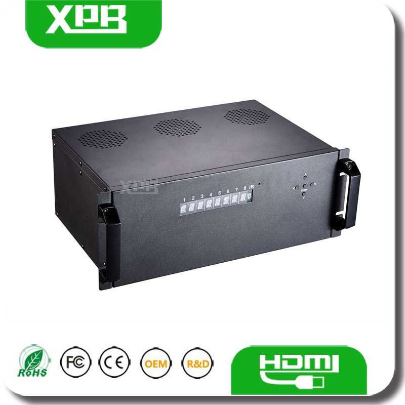 IR Control 8x8 HDMI Matrix 4kx2k Switcher