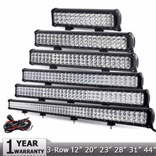 IP68 Waterproof guangzhou auto parts 4x4 4WD LED Light Bar 13.5 72w Car LED Light Bar 72wat led offroad light bar