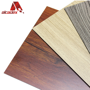 timber / wood pattern wall aluminum composite plastic cladding panel (acp)