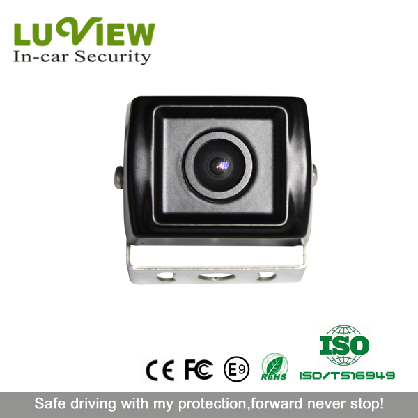 dashboard mounted waterproof car rearview mini ccd camera for bus