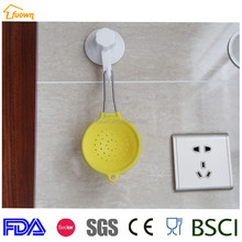 New arrival high quality mini silicone strainer