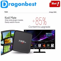 Multi-function t95m streaming smart iptv box full HD media player Android TV box 4K