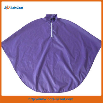 100% polyester bicycle rain poncho