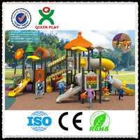 Alibaba most popular small business opportunities how to build a outdoor playground for children playground park QX-001A