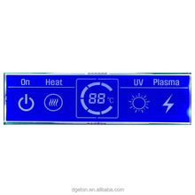 High quality 7 segment Custom OEM meter LCD display for water heater