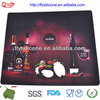 14.9'' Square Fancy Cheap Silicone Table Mat Food Grade High Quality
