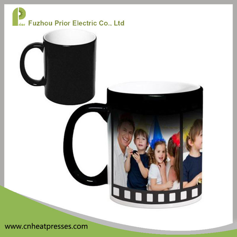 Ceramic Magic Color Change 11oz Blank Mugs For Sublimation Printing