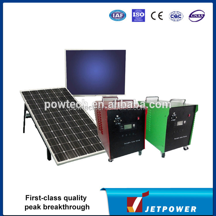 60w solar power system/Portable TV Solar power system/self generating power system