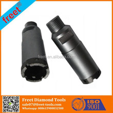 Diamond Core Bits, Wet Diamond Core Drilling Tool