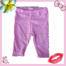 baby clothing apparel stock 100 cotton pant for girl age 0-24M