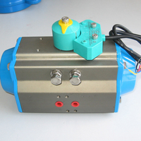 POV made cheap valve relay switch box for pneumatic ball valve