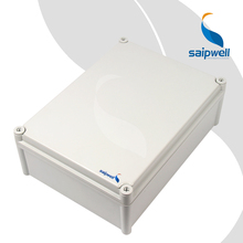 PC PVC ABS Enclosure with Hinge Saip Saipwell Junction Box SP-PC-283813 280*380*130 mm Electric IP65 PVC Junction Box