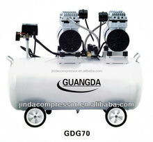 dental equipment CE SGS 30L 580W Noiseless Oil Free Air Compressor