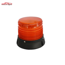 High Intensity Blue Mini Beacon With Magnetic 48w High quality Red led warning beacon light