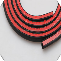3m adhesive backed EPDM foam sponge rubber decorative adhesive sealing strips